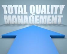 Total Quality Management Stock Illustration