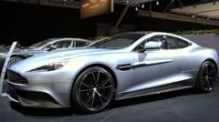 Aston Martin Vanquish Stock Footage