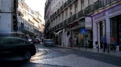 Lisbon, Portugal (time lapse) Stock Footage