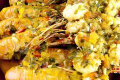 Crayfish Stew Stock Photos