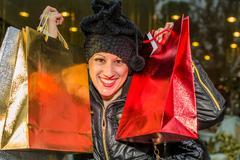 Happy Christmas Shopping Kuvituskuvat