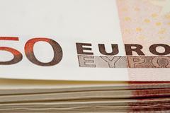 Euro Currencies Stock Photos