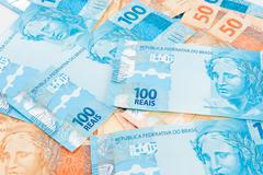 New Brazilian Money Stock Photos