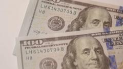Ungraded: Federal Reserve Note - stock footage