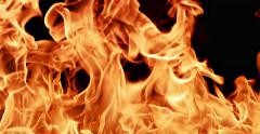 Fire Flames Stock Footage