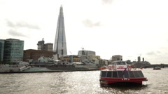The Shard - Europe's tallest building Stock Footage