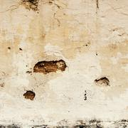 grunge crack wall background and texture - stock photo