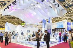 Booth oil company Gazprom OIL of Russia at the International Trade Fair MIOGE Kuvituskuvat