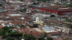 Antigua Guatemala 45 - Arch of Santa Catalina Stock Footage