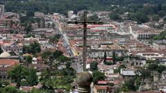Antigua Guatemala 47 - Cerro de la Cruz - Landscape Stock Footage