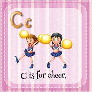 Cheer Stock Illustration
