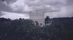 Church in the jungle Stock Footage