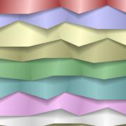 Folded Paper Background - stock illustration
