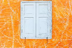 Abstract art orange cement wall texture background Stock Photos