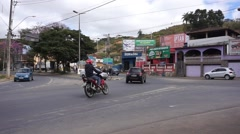 Crazy intersection in Brazil 10X speed Stock Footage