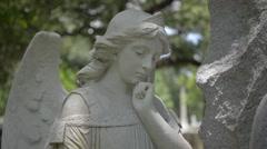 Pondering Angel Stock Footage