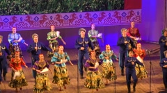 Cossacks dance Stock Footage