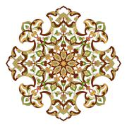 artistic ottoman pattern series ninety three - stock illustration