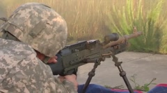 Assault Helicopter Battalion Conducts  Live-fire Training Stock Footage