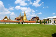 Wat Phra Kaew ,Temple of the Emerald Buddha ,full official name Wat Phra Si R Stock Photos