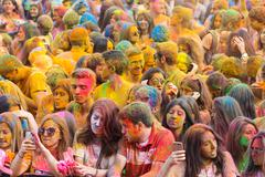 Color Up Run - stock photo