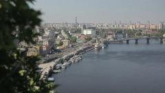 Kiev in the summer Stock Footage