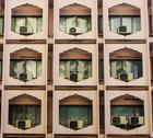 Stock Photo of Air conditioning unit with facade building, Thailand