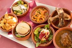 Tapas in Andalucia (Spain) - stock photo