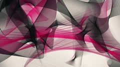 Abstract background in black and red on white - stock footage