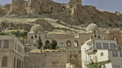 Old city of Mardin, Turkey Stock Footage