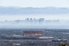 Las Vegas Haze Stock Photos