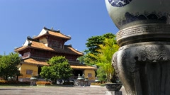Old Imperial City in Hue, Vietnam - stock footage