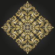 Orient Abstract Vector Pattern Stock Illustration