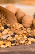 Completely nuts - stock photo