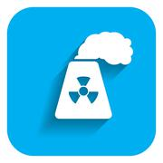 Atomic power station Stock Illustration