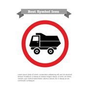 Dump truck Stock Illustration