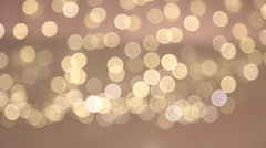 Bokeh light vintage background Stock Footage