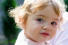 Cute infant Stock Photos