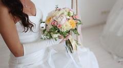 Wedding bouqet Stock Footage