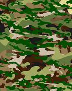 camouflage background - stock illustration