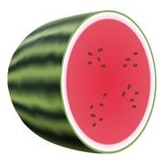Water melon isolated on white background Stock Illustration