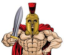 Stock Illustration of Gladiator