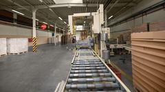 Conveyor belt in factory Kuvituskuvat