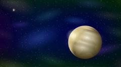 Planet Pluto, Seamless Loop Stock Footage