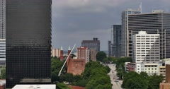 Atlanta Skyline Time Lapse.  06-27-2015 Stock Footage