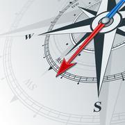 Compass southwest Stock Illustration