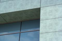 Modern architecture building windows glass - stock photo