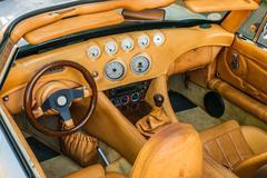 Steering wheel, shift lever and dashboard Kuvituskuvat