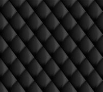 Seamless Upholstery black Stock Illustration