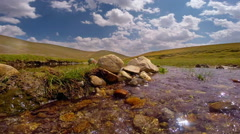 Creek in hillside ,Karadeniz,Turkey Stock Footage